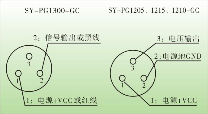 汽车专用压力变送器接线图