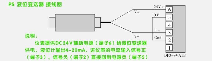 防爆液位变送器,ps1300l本安防爆液位计接线示意图3