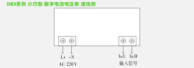 数字电流表,db3交流电流表