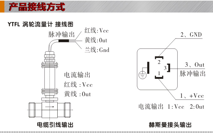 脉冲输出涡轮流量计,ytfl涡轮流量计