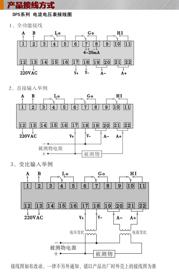 交流电流表,数字电流表