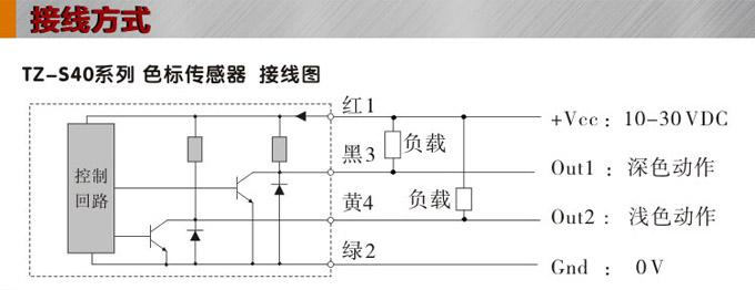 光电传感器接线图